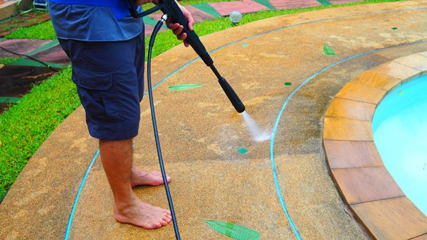 Pool Deck Cleaning Site Shutterstock