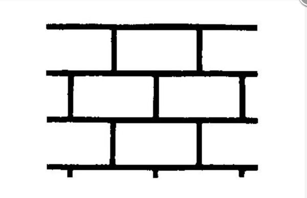 Running Bond, Concrete Stencil Site Butterfield Color® Aurora, IL