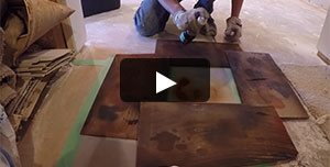 Stained Concrete - How And Why To Make Samples Site ConcreteNetwork.com