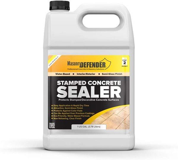 Stamped Concrete Sealer Site Masonry Defender