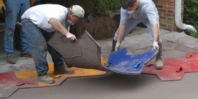 Stamping Concrete Site Stampcrete Academy