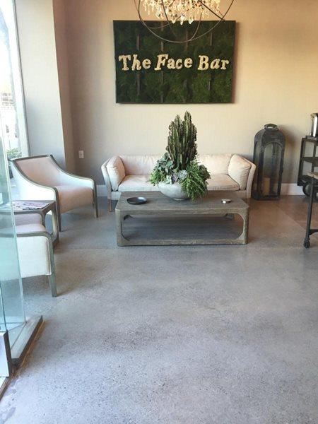 Store Front, Polished Floor Site Coolstone Concrete Design Encino, CA