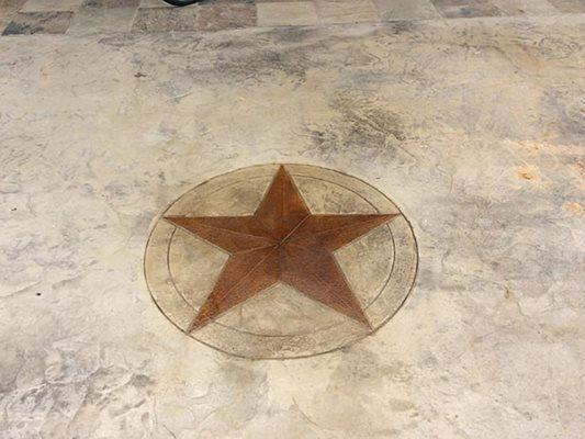 Texas Star Design, Stamped Concrete Site Elite Concrete Decor Forney, TX