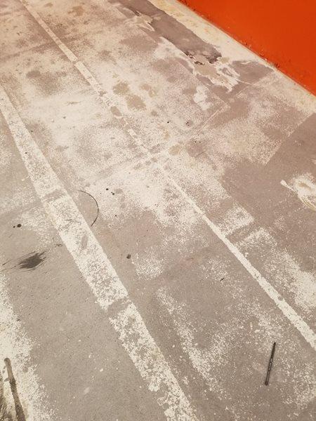 Vip Mortgage, Damage Concrete, Icoat, One Day Stain Site iCoat Phoenix, AZ