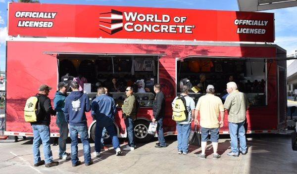 Woc Merchandise, Trailer Site World of Concrete