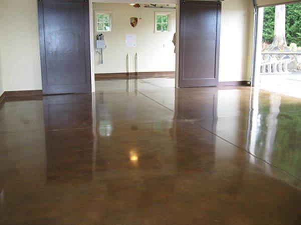 Stained Concrete, Concrete Flooring Stained Concrete KBV Concrete Design Rochester Hills, MI