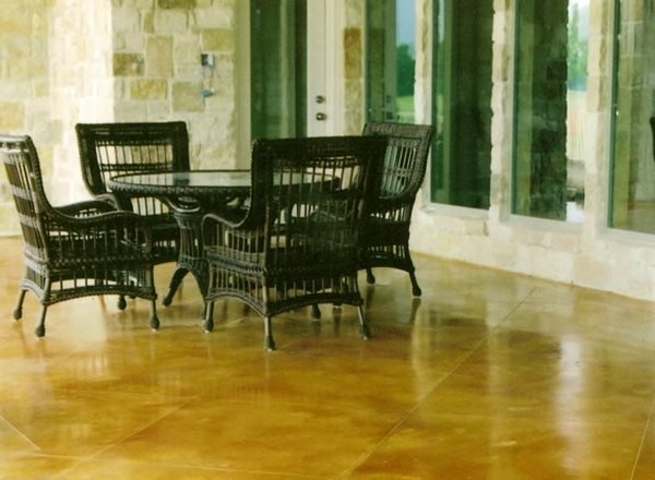 Stained Concrete Texas Stained Concrete Holland Decorative Concrete Rockwall, TX