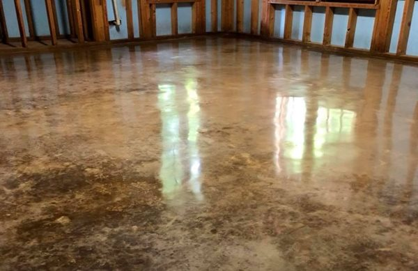 Stained Floor, Stained Concrete, Concrete, Stained Concrete Floor, Polished Floor, Polished Concrete Floor Stained Concrete Buckhead Stone Care Winder, GA