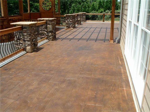 Stamped Concrete Concrete Aesthetics, LLC Talking Rock, GA