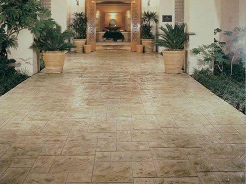 Stamped Concrete Decorative Concrete Design Tampa, FL