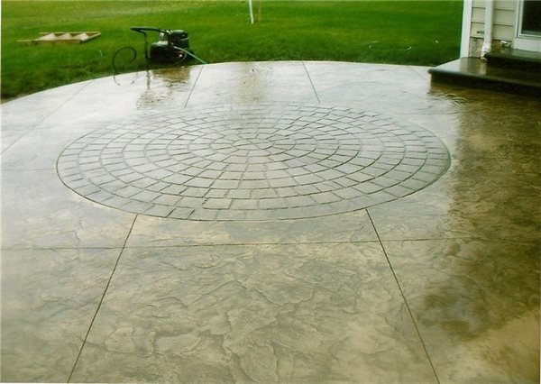 Stamped Concrete Evolution Concrete Newton Falls, OH