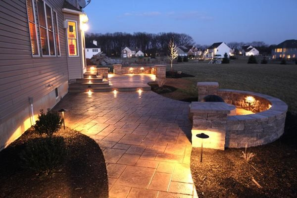 Stamped Concrete Finishing Edge Inc Zionsville, PA