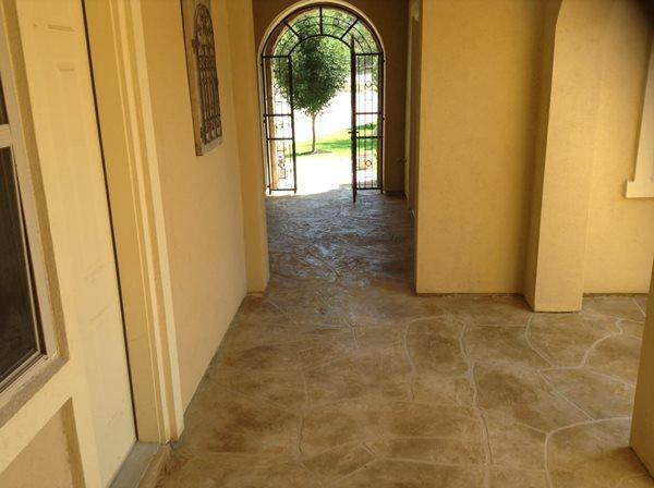 Flagstone, Pattern, Stamped Concrete Stamped Concrete Applied Concrete Solutions Cedar Park, TX
