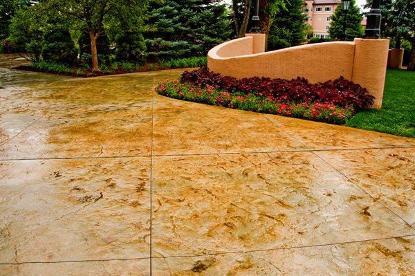 Stamped Concrete Groninger Concrete Colorado Springs, CO