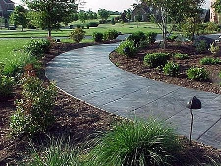 Path, Stamped, Concrete, Walkway Stamped Concrete Deco-Systems of MD Inc Germantown, MD