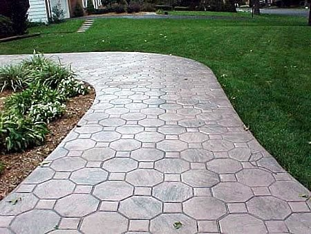 Pathway, Concrete, Stone, Walkway Stamped Concrete Deco-Systems of MD Inc Germantown, MD