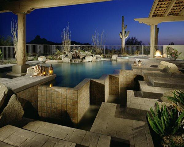 Stamped Concrete Progressive Hardscapes Phoenix, AZ