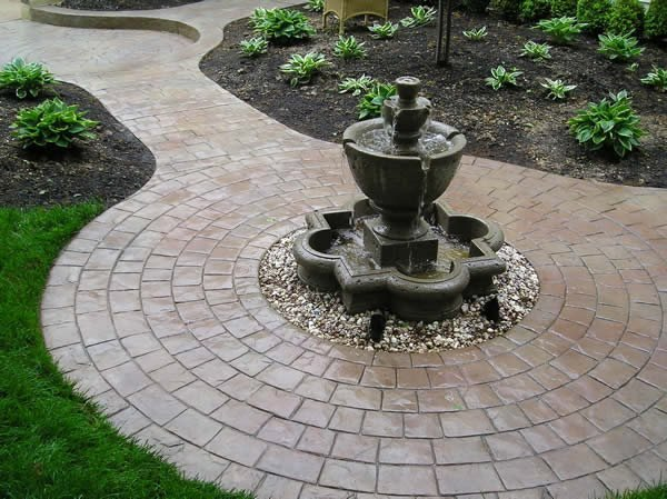 Stained, Pavers Stamped Concrete Split-Rok Construction Co Lakewood Township, NJ