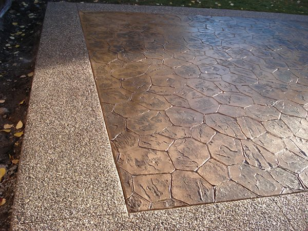Stamped Concrete Stamped Concrete KMM Decorative Concrete Holly Springs, NC