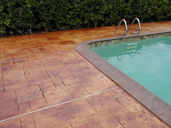 Stamped Concrete, Stained Concrete Stamped Concrete A1 Concrete Designs Oviedo, FL