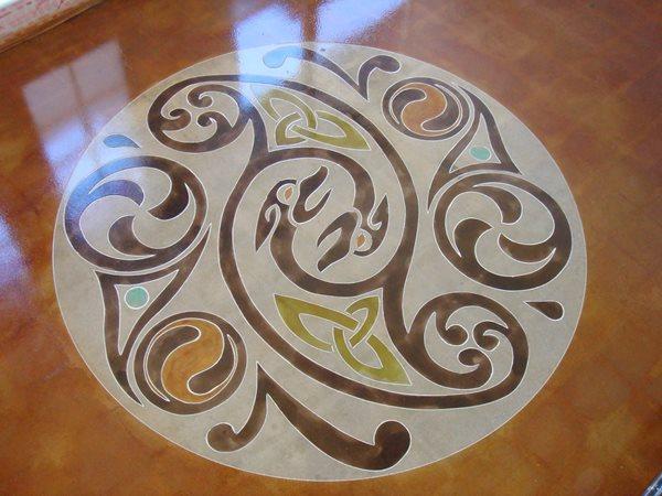 Stenciled Flooring Floor Seasons Inc Las Vegas, NV