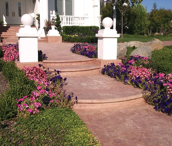 Steps and Stairs Brickform Rialto, CA