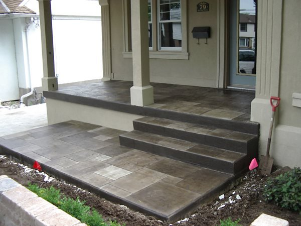 Dark Grey, Squares Steps and Stairs Graco Construction Lithia, FL