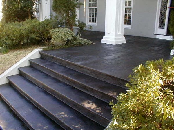 Dark, Steps Steps and Stairs Elite Crete Corporation Valparaiso, Indiana