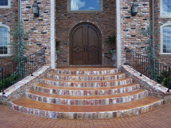 Steps and Stairs Solid Rock Concrete Services Gravette, AR
