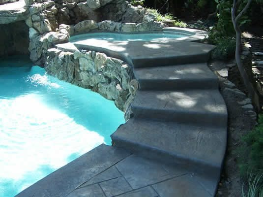 Stamped, Steps Steps and Stairs Split-Rok Construction Co Lakewood Township, NJ