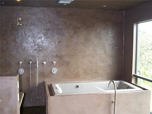 Concrete Tub Tubs and Showers Leed General Consultants Oakland, CA