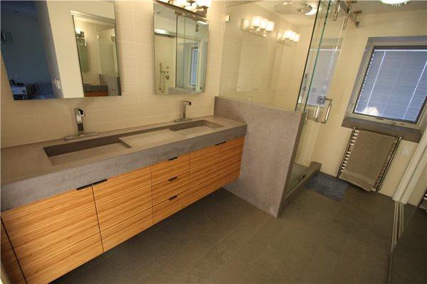 Tubs and Showers Pourfolio Custom Concrete San Diego, CA