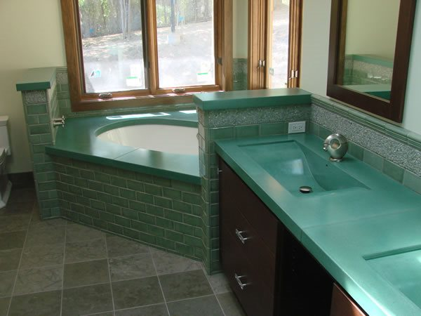 Teal, Bathtub Tubs and Showers Diamond D Company Capitola, CA