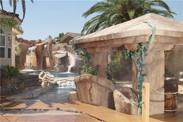 Water Features Arizona Falls Las Vegas, NV