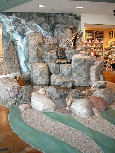 Boulders, Stream Water Features Colorado Hardscapes Denver, CO