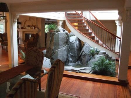 Indoor, Natural Stone Water Features Elements of Concrete Maple Ridge, BC