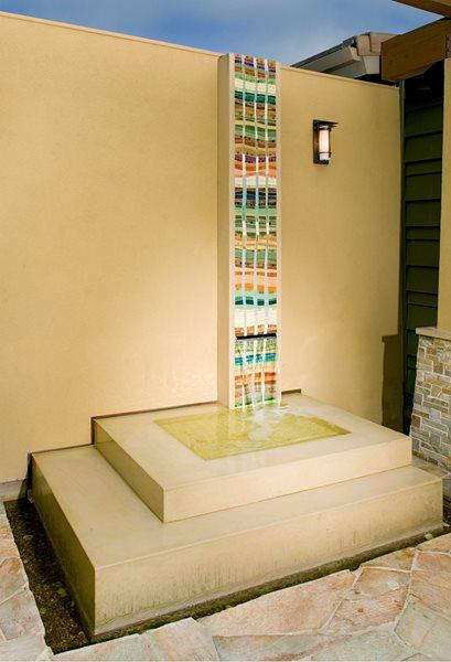 Water Features Pourfolio Custom Concrete San Diego, CA