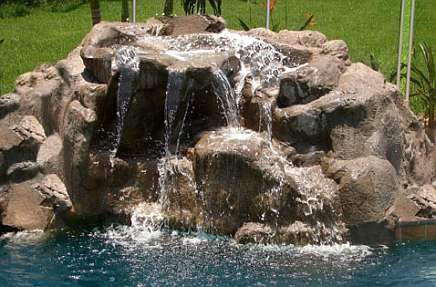 Water Features Synthetic Rock Solutions Amity, OR