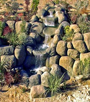 Waterfall, Fountain Water Features JPJ Technologies Amity, OR