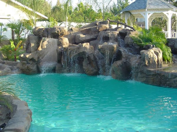 Waterfall Water Features Good Floor Covering/Good Construction Services Costa Mesa, CA