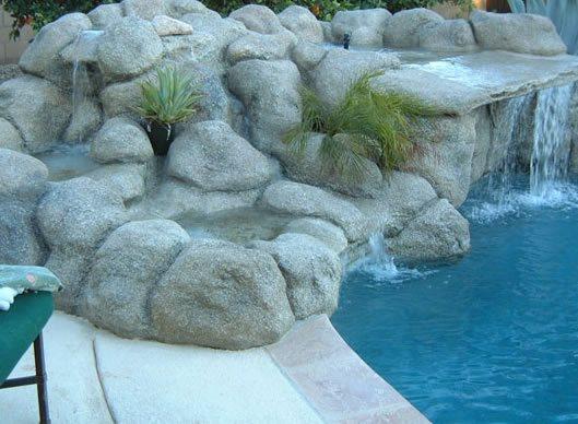 Waterfall, Pond Water Features G & G Custom Concrete / Armor Prep Coatings Finksburg, MD