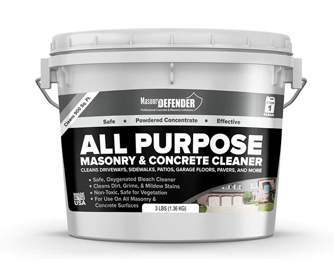 Five Categories of Concrete Cleaners