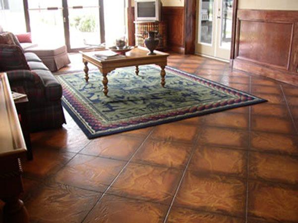 Brown Floors Acacia Concrete Designs Rensselaer, NY