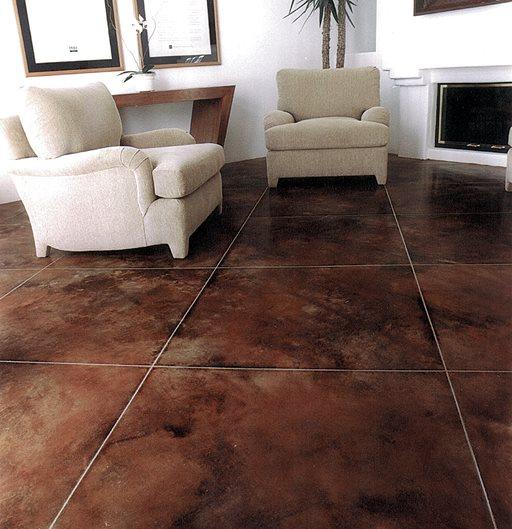 Brown, Faux Tiles Brown Floors Brickform Rialto, CA