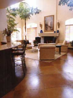Brown Floors LA Concrete Works West Hills, CA