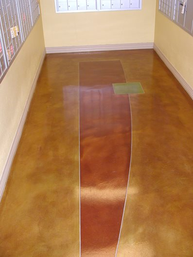 Post Office, Abstract Brown Floors Surfacing Solutions Inc Temecula, CA