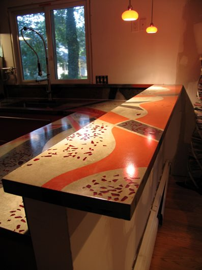 Photo Gallery Concrete Countertops Randolph Nj The