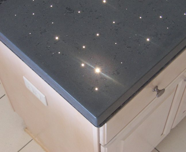 Countertop Lights : Concrete Countertops With Lights