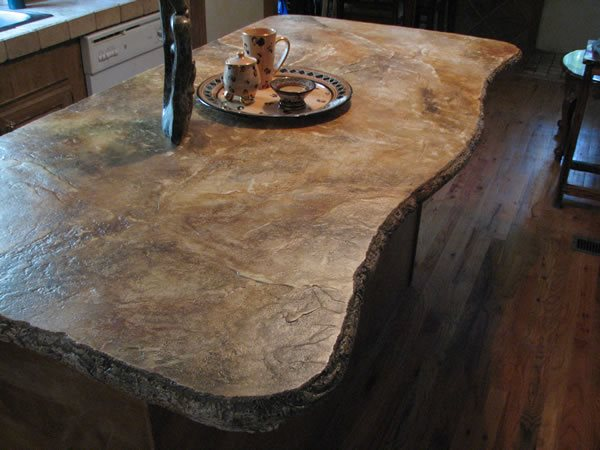 Limestone Countertops : Limestone CountertopConcrete CountertopsPicassa CreteCanyon Lake, TX