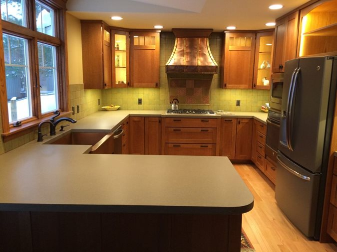 Matte Finish Countertops Concrete Countertops Hard Topix Jenison, MI